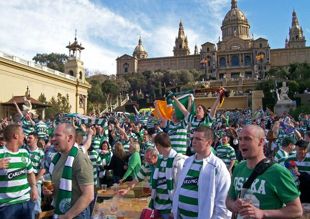 Glasgow Celtic fans (File photo).