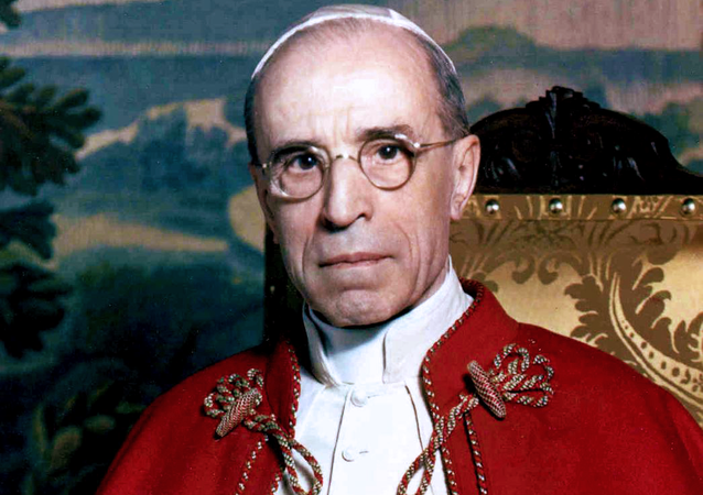 Portrait of Pope Venerable Pius XII