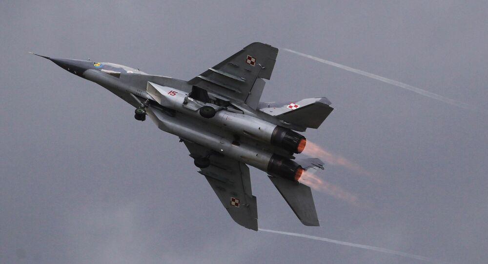 Polish MiG-29 (File)