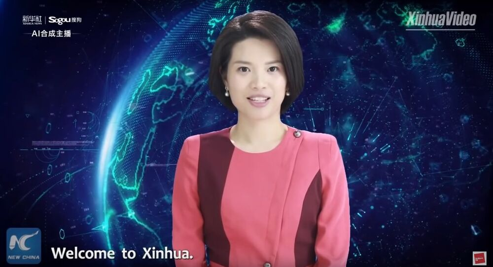 China Unveils world's first female #AI news anchor