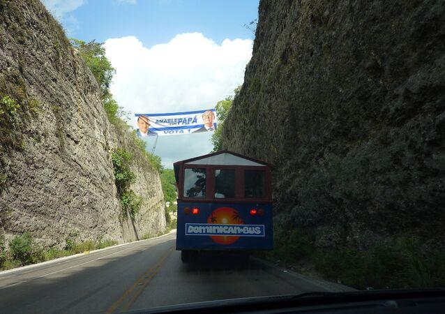 A bus in Dominican Republic (FILE PHOTO).
