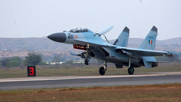 SU-30MKI India - Sputnik International