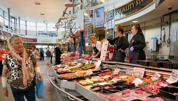 UK food market (File photo). - Sputnik International