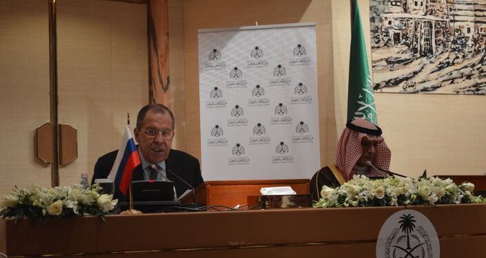 Russian Forign Minister Sergei Lavrov in Doha