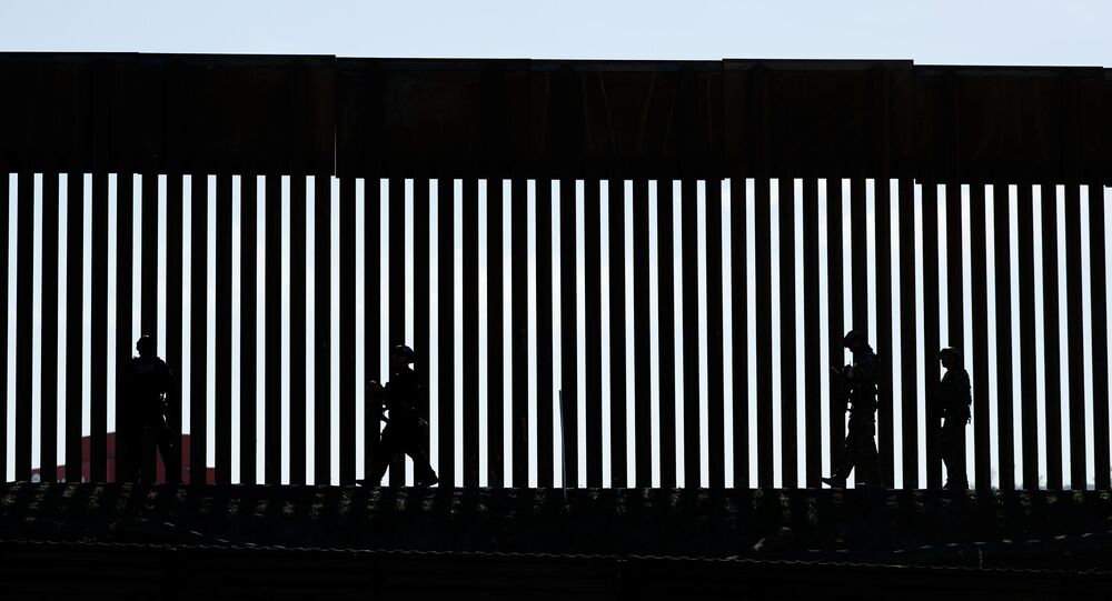 Border Patrol agents patrol the San Ysidro border crossing after the border between Mexico and the U.S. was closed in the San Ysidro neighborhood of San Diego, California, U.S. November 25, 2018