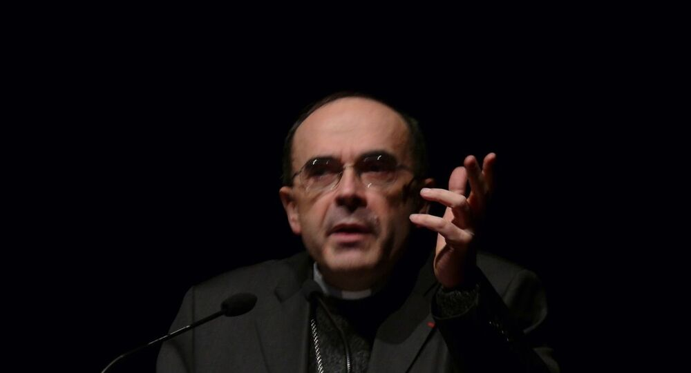 Cardinal Philippe Barbarin (File photo).