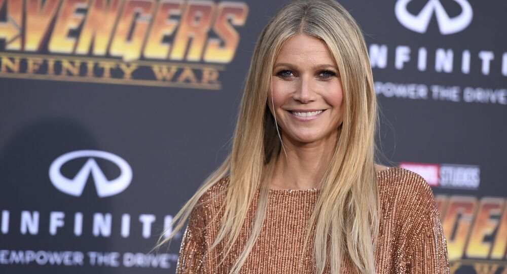 Gwyneth Paltrow arrives at the world premiere of Avengers: Infinity War on Monday, April 23, 2018, in Los Angeles