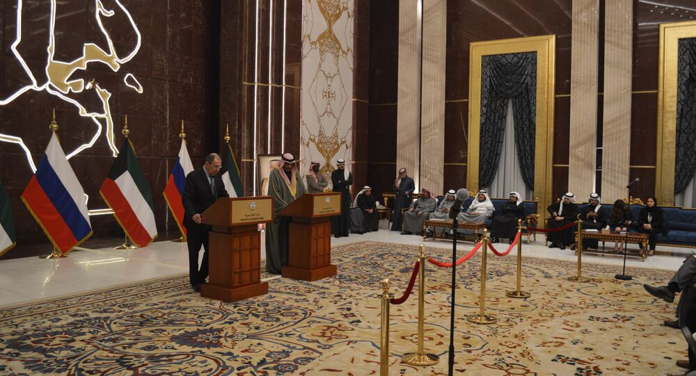 Russian FM Sergey Lavrov holding press-conferences in Kuwait and UAE