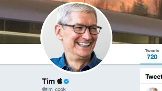 Tim Cook Changes Twitter Name to Tim Apple