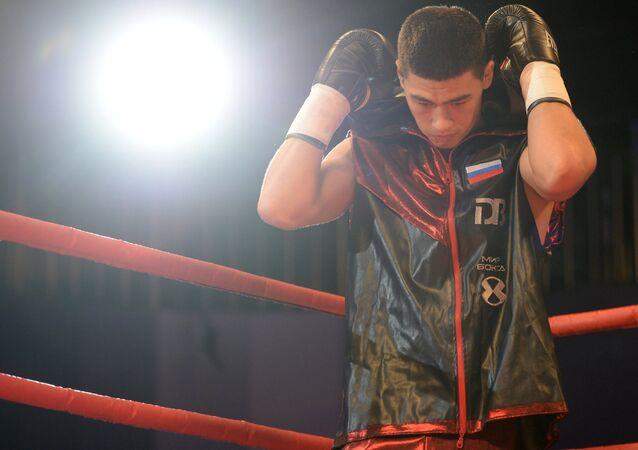 Russian boxer Dmitry Bivol