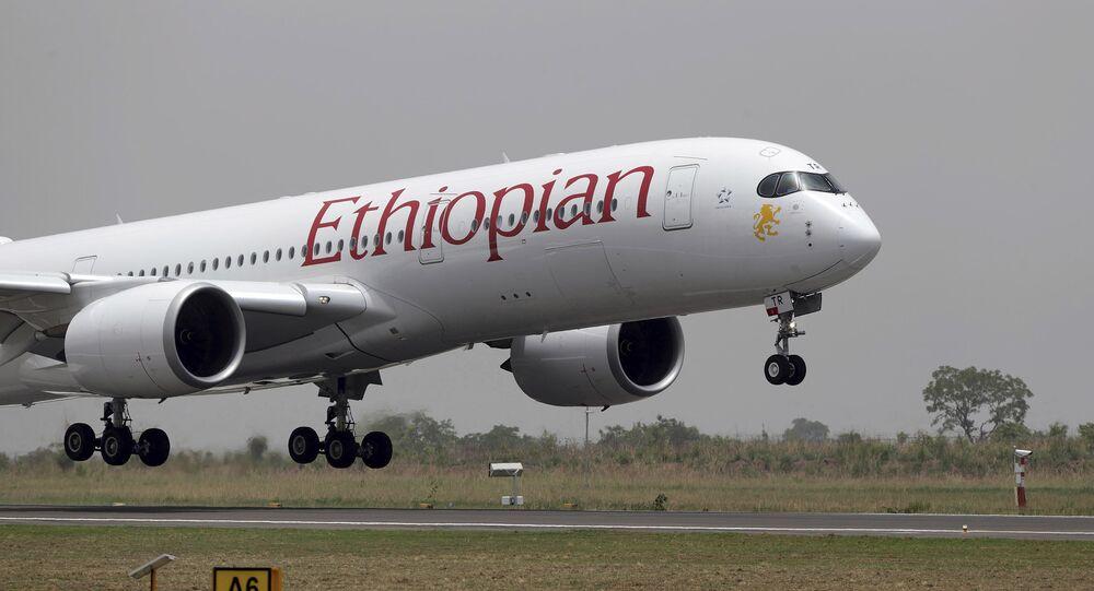 Ethiopian Airline Airbus