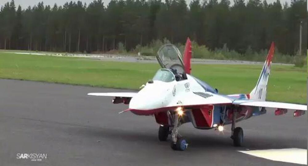 MiG-29 RusJet Model