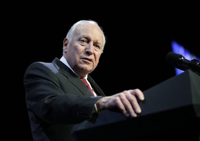 Former Vice President Dick Cheney speaks at the Republican Jewish Coalition annual leadership meeting, Friday, Feb. 24, 2017, in Las Vegas