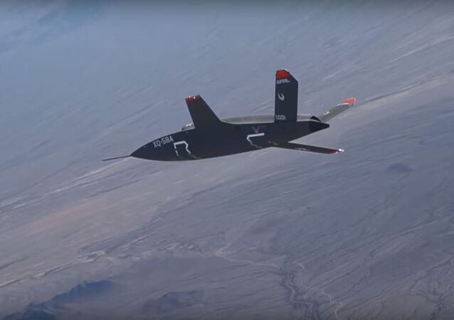 XQ-58A Valkyrie UAV Test Flight
