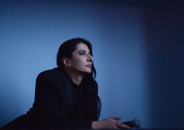 NEW YORK, NY - MAY 31: Artist/film subject Marina Abramovic attends the HBO Documentary Screening of Marina Abramovic: The Artist Is Present at MoMA on May 31, 2012 in New York City.