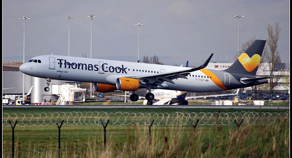 An Airbus A321 aircraft of the Thomas Cook carrier at the Manchester Airport (File photo).