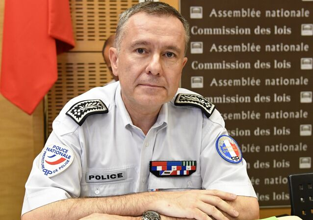 French Director of Public Order of Paris Alain Gibelin