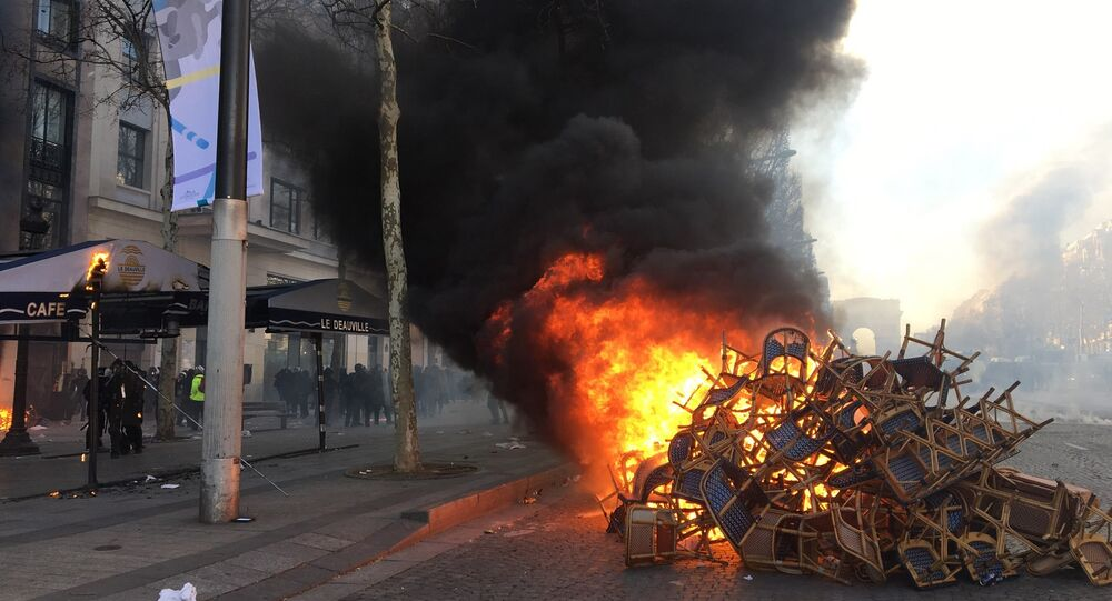 Act 18: Yellow Vests protest in Paris on 16 March