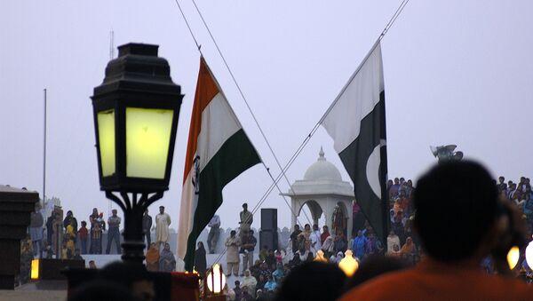 Flags of India and Pakistan (File Photo) - Sputnik International