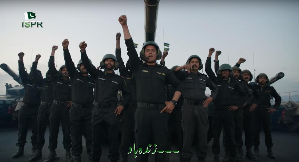 Pakistani troops featured in hit pop video by Sahir Ali Bagga.