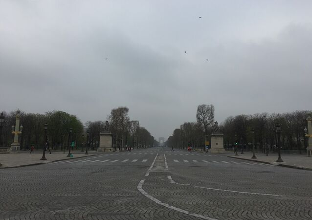 Champs Elysees, 23 March 2019.