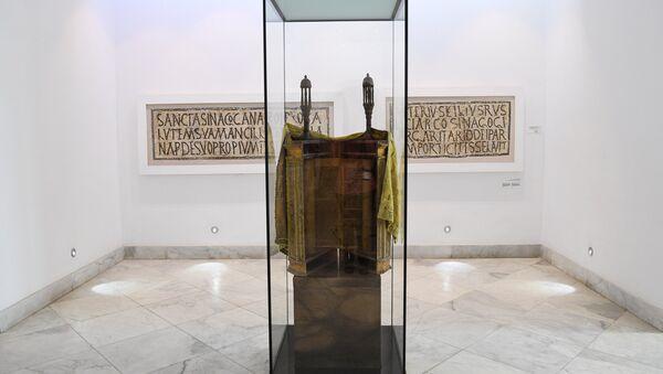 Torah at a museum in Tunis, Tunisia. - Sputnik International