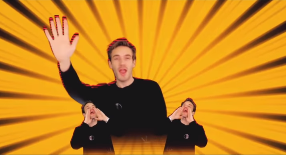 PewDiePie makes cameo appearance in a music video