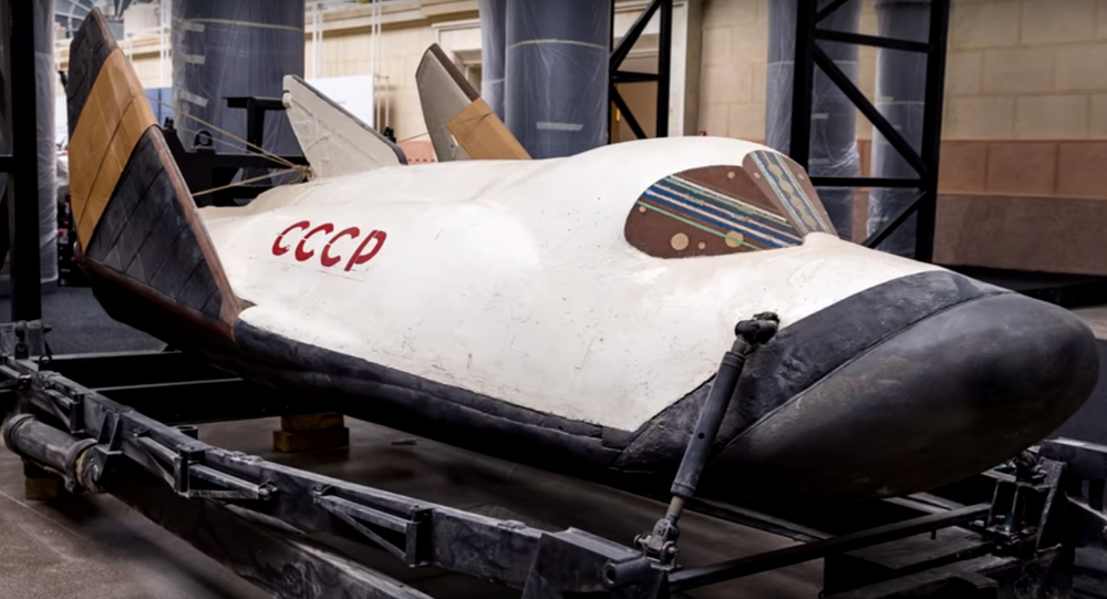 Bor-4 at a museum.