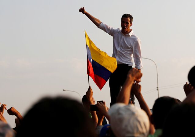 Juan Guaido. File photo