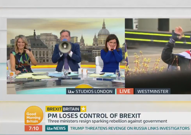After months of Mr. Stop Brexit interrupting @ranvir01, the @GMB team have finally got their revenge!