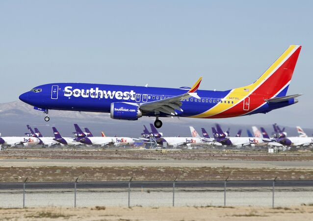 File Photo of Southwest Airlines 737 Max Jet