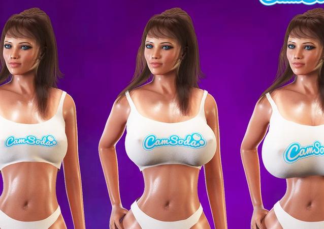 CamSoda 3D avatar