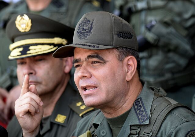 The Commander in Chief of Bolivarian National Armed Forces of Venezuela, Vladimir Padrino