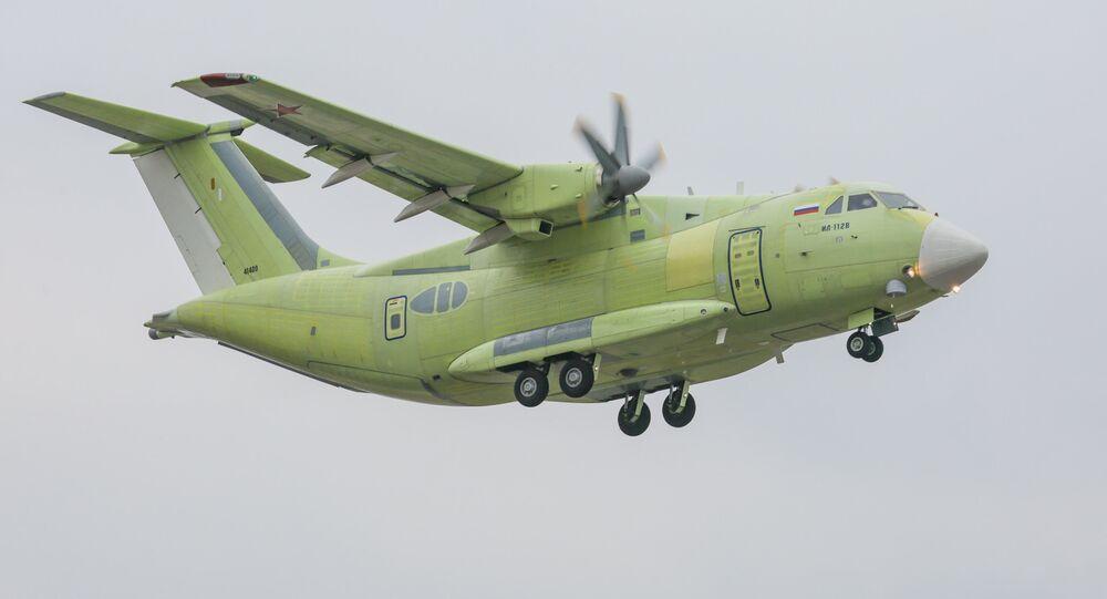 Russian IL-112V Military Transport Plane
