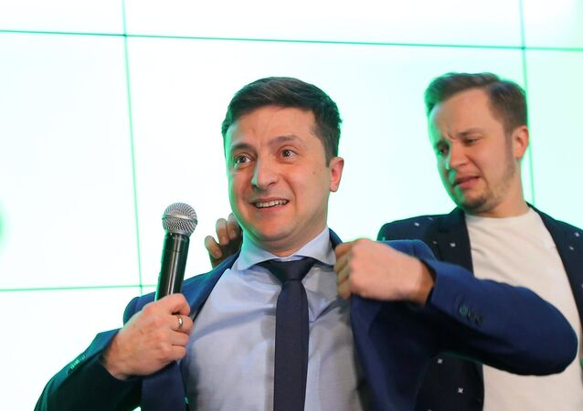 Presidential election in Ukraine 2019, Volodymyr Zelenskiy