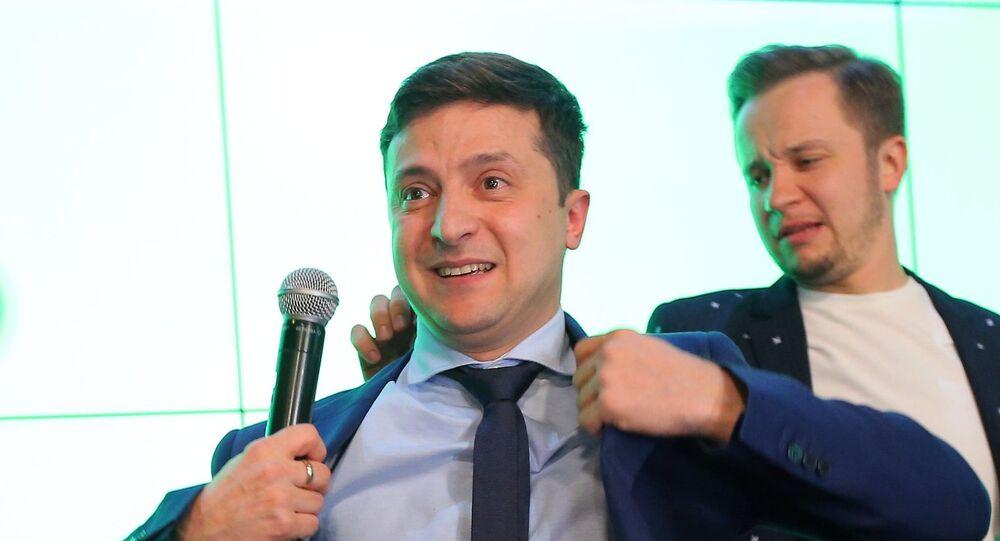 Presidential election in Ukraine 2019, Volodymyr Zelenskiy