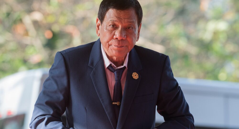 President of the Philippines Rodrigo Duterte (File)