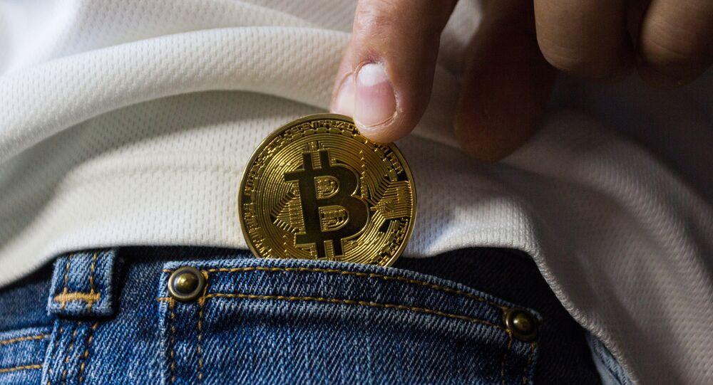 Pocketing a bitcoin