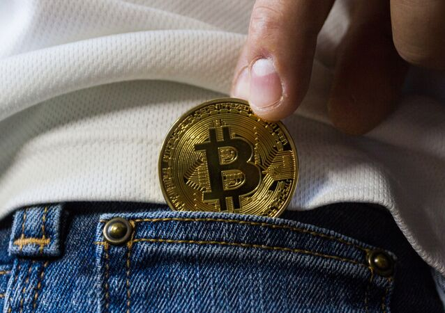 Pocketing a bitcoin