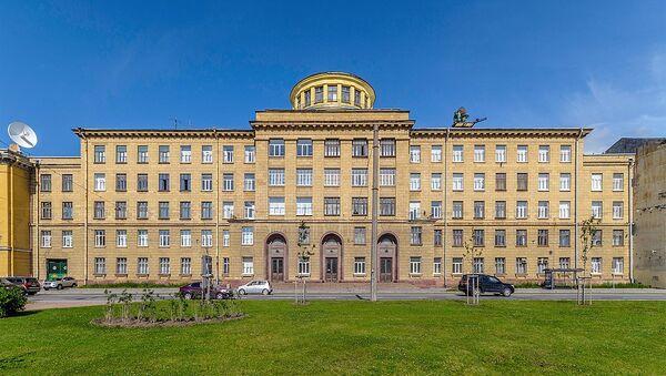 Mozhaisky Military Space Academy at Zhdanovskaya Street in Saint Petersburg - Sputnik International
