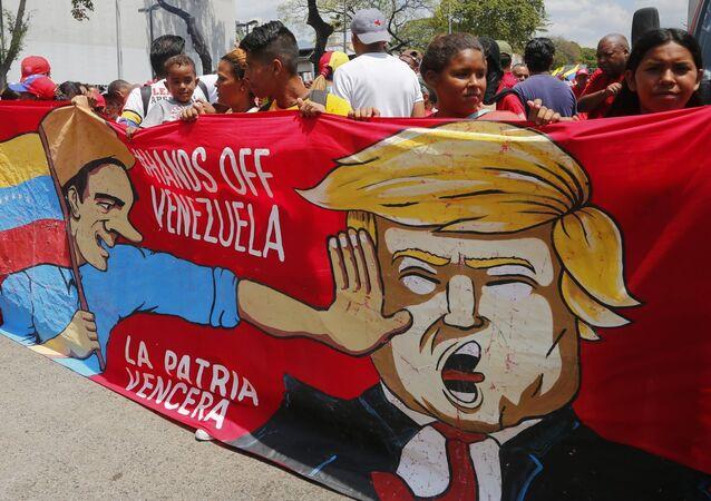 Pro-Maduro Rallies in Caracas