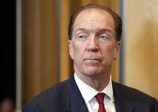 David Malpass, U.S undersecretary for international affairs at the Treasury Department and candidate for the World Bank presidency