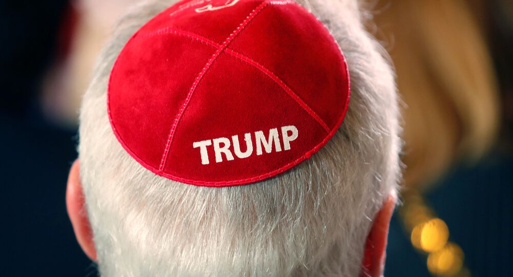 Trump speaks at the Republican Jewish Coalition 2019 Annual Leadership Meeting in Las Vegas
