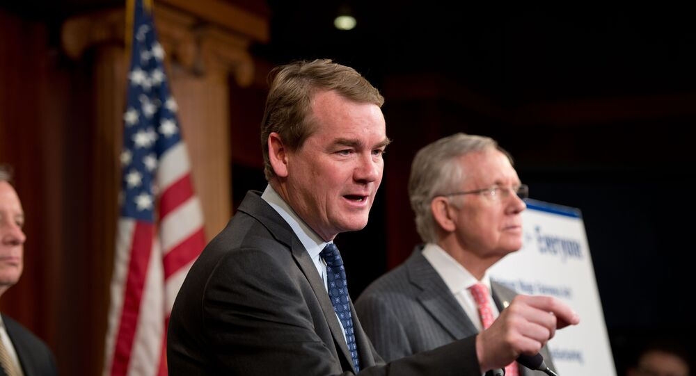 Democratic Colorado Sen. Michael Bennet (File photo).