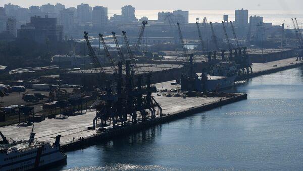 Latakia port. - Sputnik International