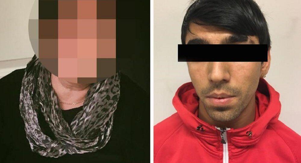 A woman who runs a foster home justified blowing a kiss to an asylum seeker