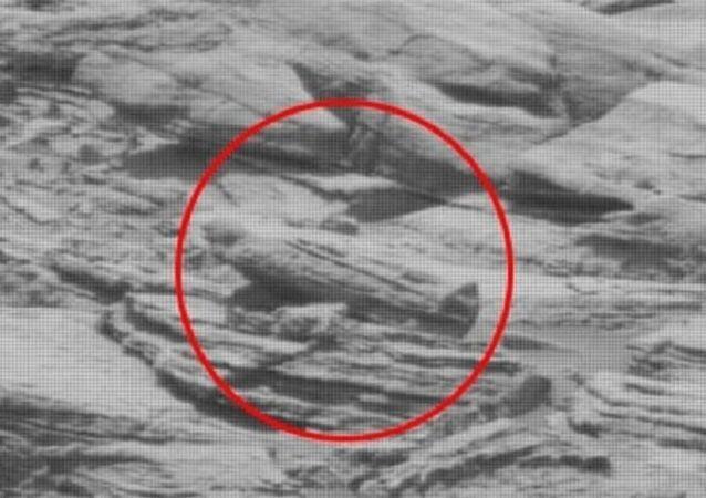 Alien sarcophagus found on Mars