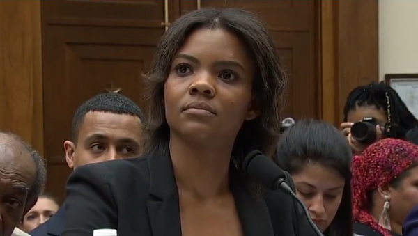 Candace Owens during House Judiciary Committee hearing - Sputnik International