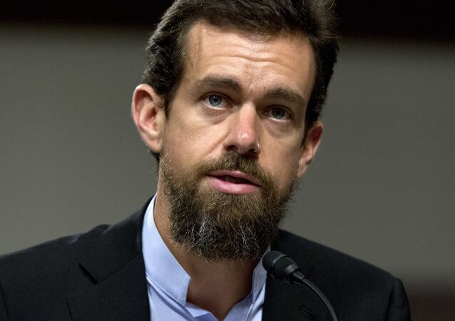 Twitter CEO Jack Dorsey testifies before the Senate Intelligence Committee hearing on 'Foreign Influence Operations and Their Use of Social Media Platforms' on Capitol Hill, Wednesday, Sept. 5, 2018, in Washington