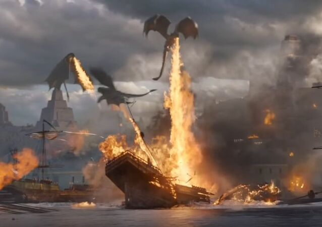 Dracarys! Game of Thrones S06xE09 Daenerys Beats the Masters